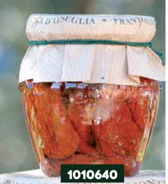 Frantoio Sant'Agata, SUNDRIED TOMATOES in E/V olive oil orcio jar 200g