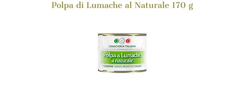 Lumacheria Italiana, natural snails meat 170g - drained weight 120g - tin