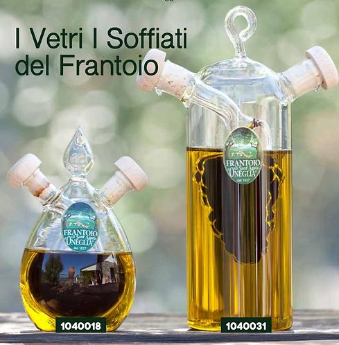 Frantoio Sant'Agata, ONEGLIA GRAPPOLO OLIO E/V 100ml + BALSAMIC VINEGAR 100ml