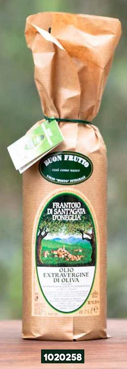 Frantoio Sant'Agata, EXTRA VIRGIN OLIVE OIL 'BUON FRUTTO' Sheated bottle 75cl