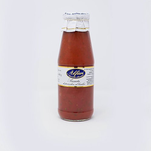 Alfieri Pastificio, TOMATOES PUREE WITH BASIL 680g