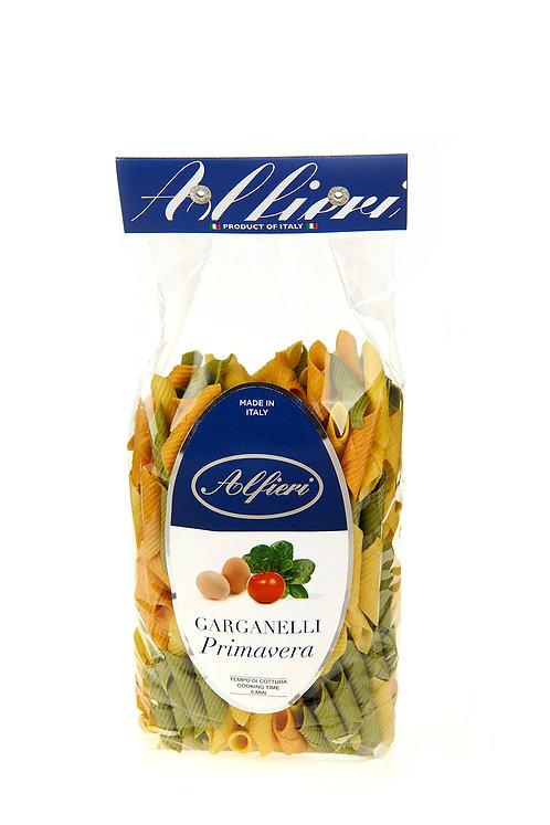 Alfieri Pastificio, GARGANELLI 'PRIMAVERA' WITH EGG, SPINACH AND TOMATO bag 500g
