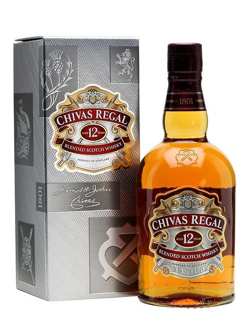 Chivas Regal - 12 YO Prince Whiskies (Scotch Premium Blended Whisky) 40.0% 70cl