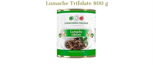 Lumacheria Italiana, snails with parsley and garlic 800g - tin