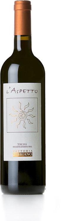 Fattoria Fibbiano, Toscana Rosso 'L'Aspetto' IGT, 2013