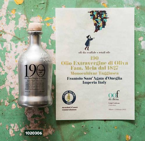 Frantoio Sant'Agata, 190 Yr Selezione Famiglia MELA E/V Olive Oil 'ORO' 50cl