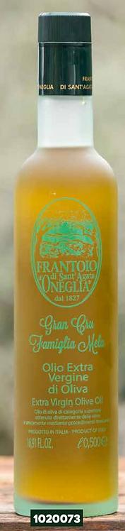 Frantoio Sant'Agata,Gran Cru 'MELA FAMILY' Taggiasco E/V olive oil frosted 500ml