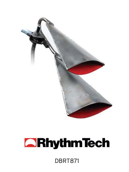 RHYTHM TECH - Metalworks mounted agogo