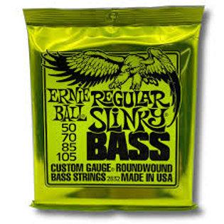ERNIE BALL BASS GUITAR STRINGS REGULAR SLINKY 50-105