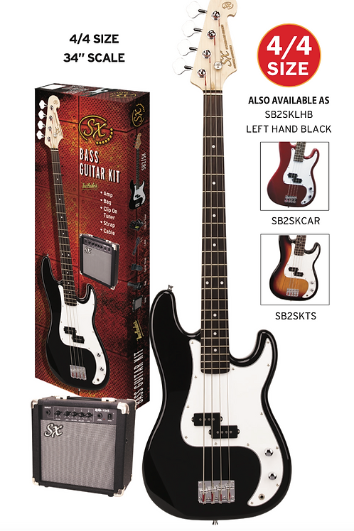 SX BASS & AMP PACKAGE