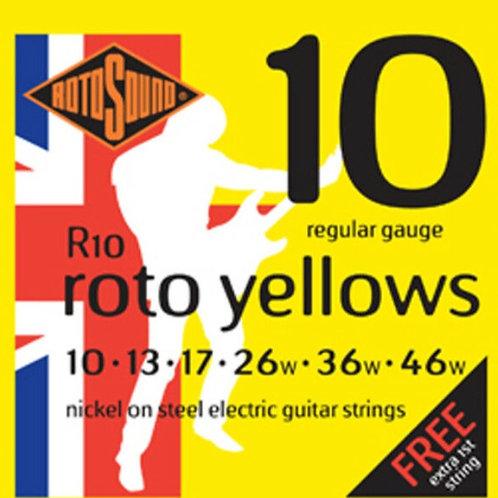 ROTOSOUND Yellow guitar strings set 10-46