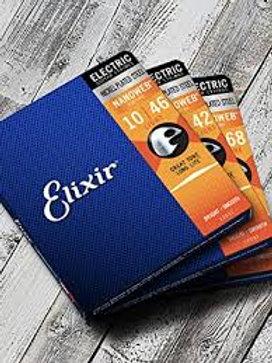 Elixir 10-46 Nanoweb Electric Guitar Strings