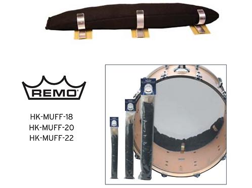 REMO - Adjustable bass drum muffling system