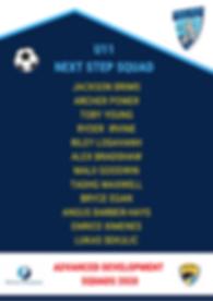 u11 Next Step squad 2020.png