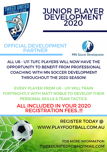 MN Soccer Development Flyer - REGISTRATI
