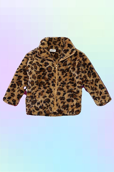 Cheetah Sherpa Jacket