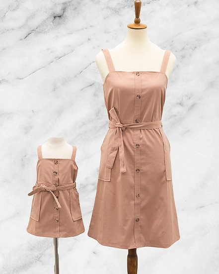 Mommy and Me Clay Dress-MOM