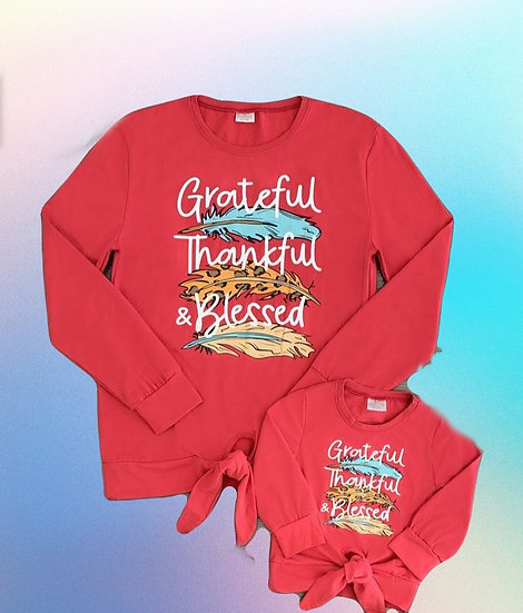 Grateful Mommy and Me Shirts
