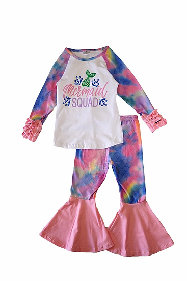Mermaid Tie Dye Set