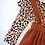 Thumbnail: Leopard and Pumpkin Suspender Skirt