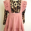 Thumbnail: Blush Suspender and Leopard Dress