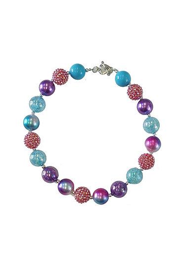 Multicolor Bubblegum Necklace