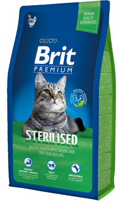 Brit Blue Cat Sterilised 8 kg