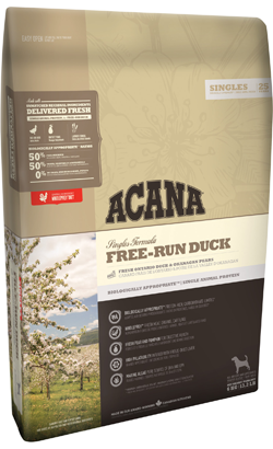 Acana Singles Dog Free-Run Duck 11,4 kg