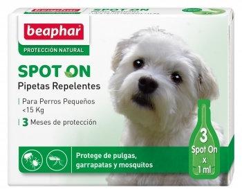 Beaphar pipetas replentes - cão pequeno - 3 x 1 ml