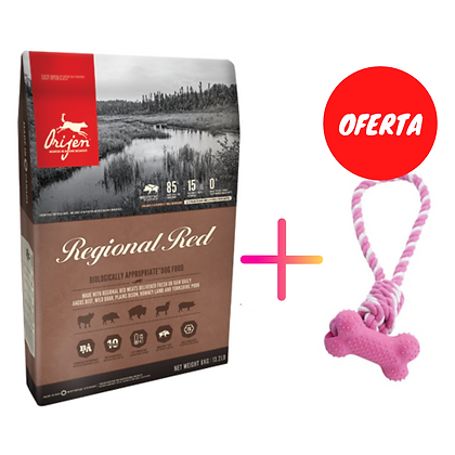 Orijen Regional Red Dog 11,4 kg + Oferta de brinquedo