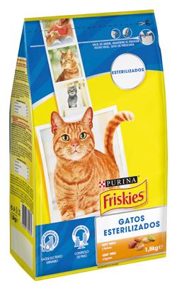 Friskies Gato Esterilizados Peru & Vegetais 3 kg