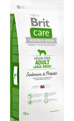 Brit Care Grain-free Dog Adult Large Breed Salmon & Potato 12 kg