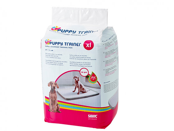Savic Tapetes Higiénicos Puppy Trainer XL - 30 Unidades