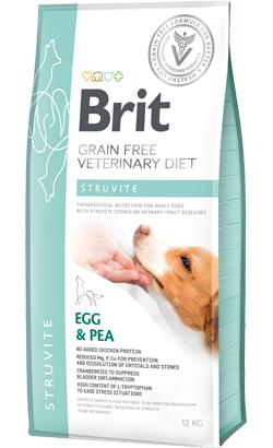 Brit Veterinary Diet Dog Struvite Grain-Free Egg & Pea 12 kg