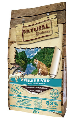Natural Greatness Field & River Cat & Kitten 2 kg