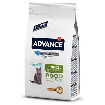 Advance Cat Young Sterilised Chicken & Rice 1,5 kg