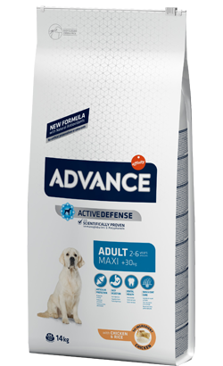 Advance Dog Maxi Adult Chicken & Rice 14 Kg