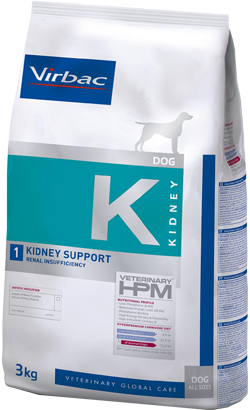 Virbac Veterinary HPM K1 Dog Kidney Support 12 kg