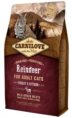 Carnilove Cat Adult Energy & Outdoor Reindeer 2 kg