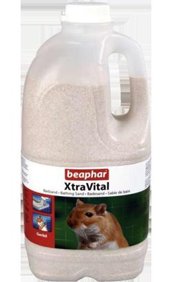 Beaphar Areia de Banho XtraVital para Gerbos 2 L