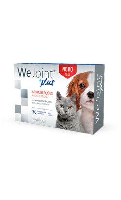 WeJoint Plus Raças Pequenas e Gatos 30 Comprimidos
