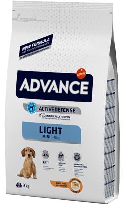 Advance Dog Mini Light Chicken & Rice 3 Kg