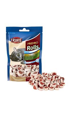 Trixie Cat Snack Premio Rolls - Chicken - 3 x 50 g