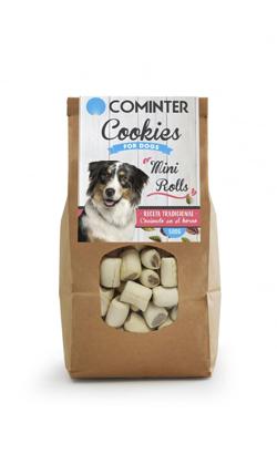 Cominter Dog Snack Cookies Mini Rolls 500 g