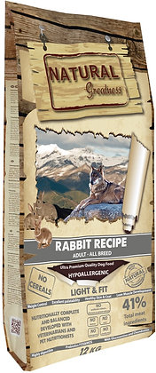 Natural Greatness Rabbit Light & Fit 2 kg