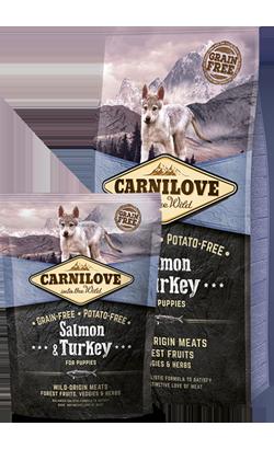 Carnilove Salmon & Turkey Puppy 1,5 kg