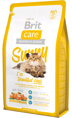 Brit Care Cat Sunny Hair & Skin High Salmon 2 kg