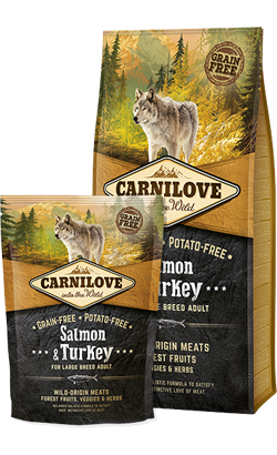 Carnilove Salmon & Turkey Adult Large Dog 12 kg