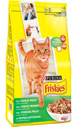 Friskies Gato Adulto Coelho, Frango e Legumes 20 kg