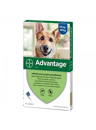 Advantage cão 25 - 40 kg